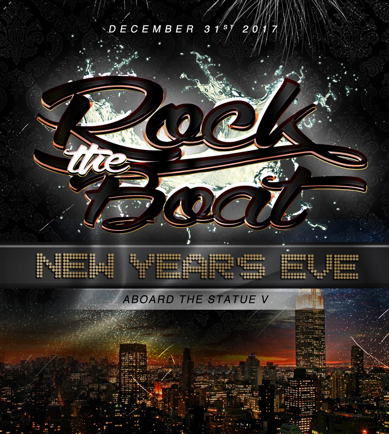 Rock The Yacht NYC New Years Eve Cruise Party